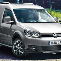 VW Caddy-Kasten-Cross